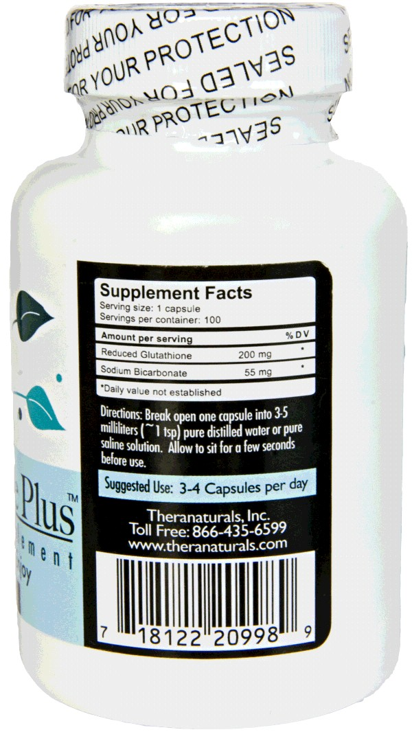 Reduced L-Glutahtione Plus - Enhanced Absorption - Ultra Purity Grade